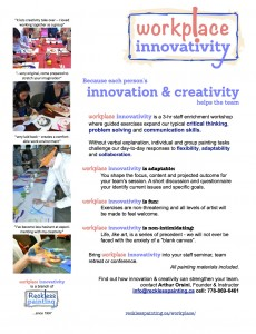 workplace innovativity flyer